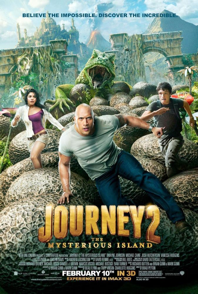 Journey 2 The Mysterious Island