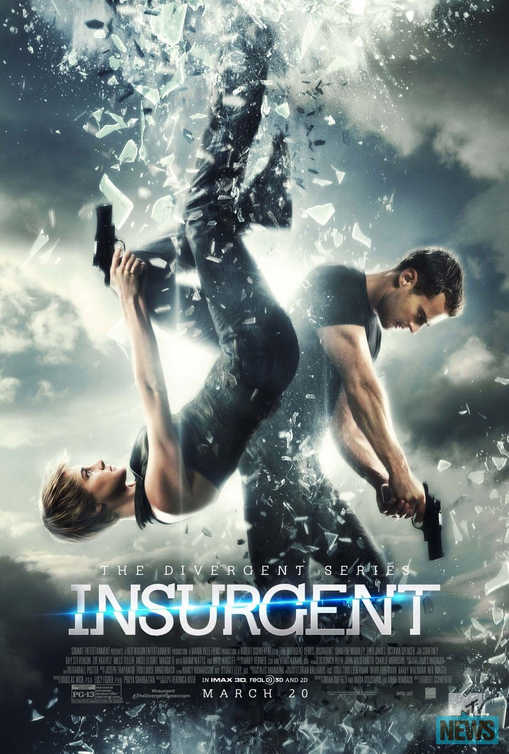 Insurgent (2015) Hindi 720p 480p BluRay Dual Audio [ हिंदी + English] ESubs