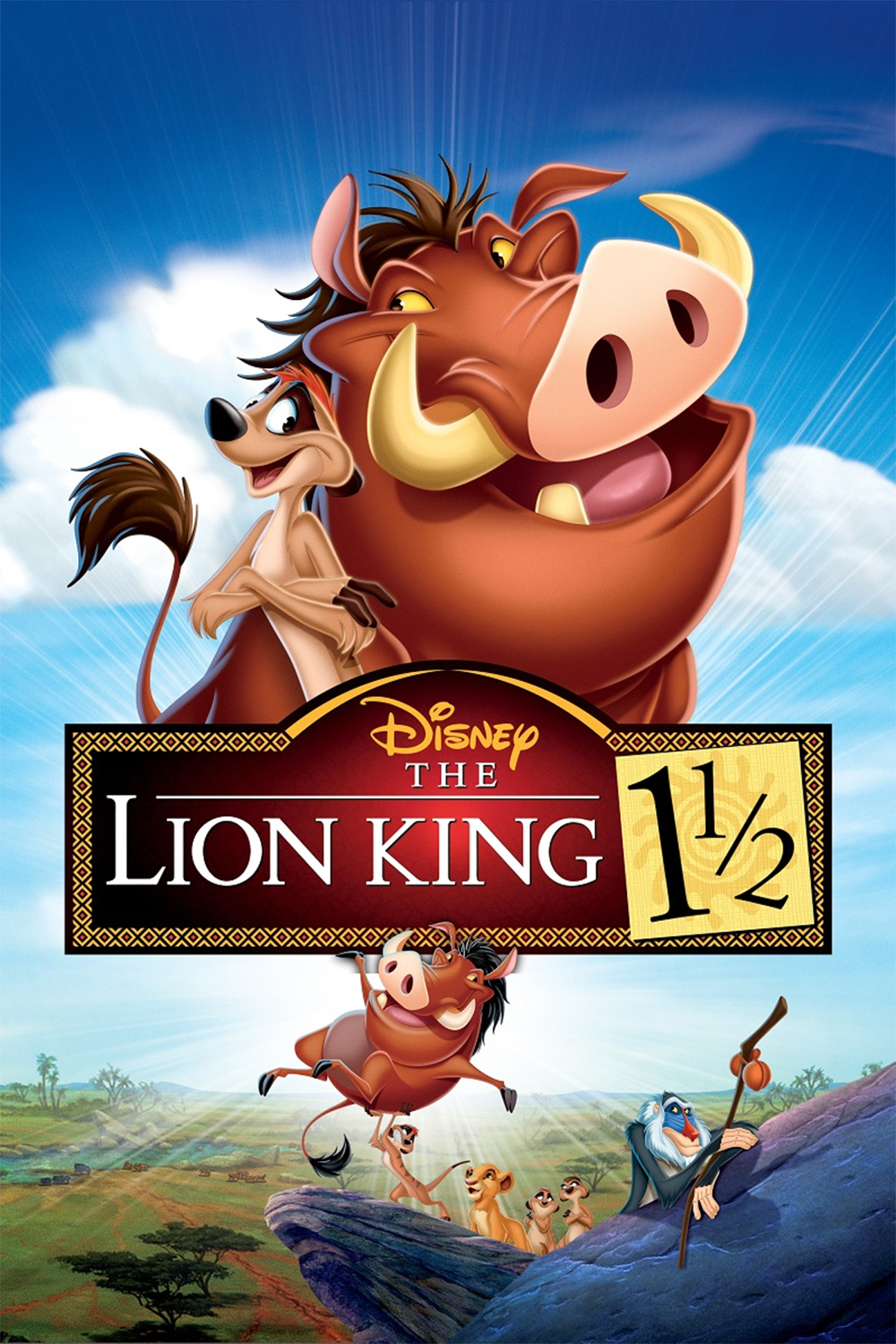 The Lion King 1 1/2 / The Lion King 1½